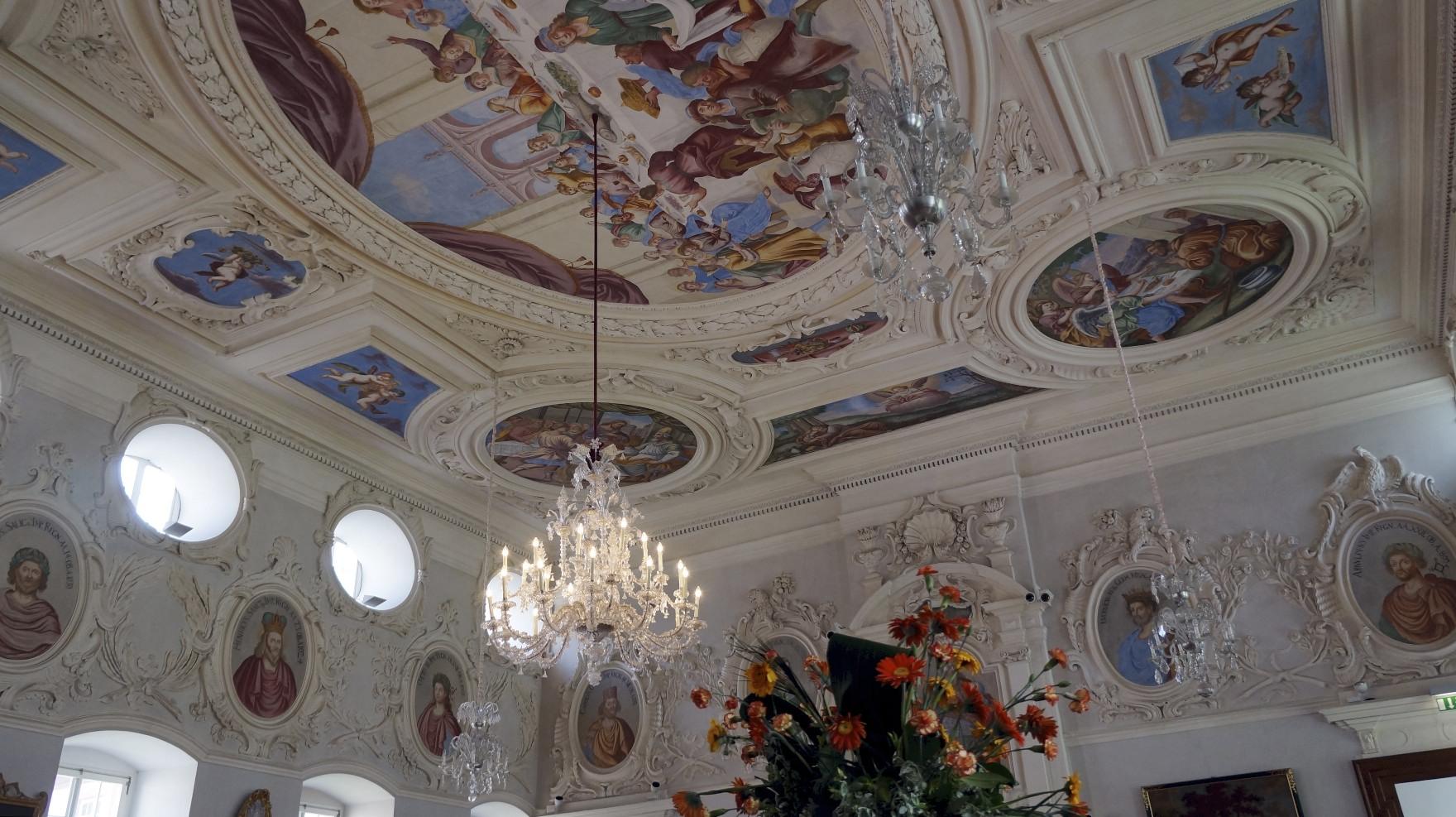 Im Schloss Corvey