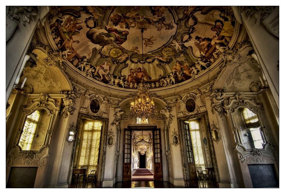 im Schloss Ludwigsburg