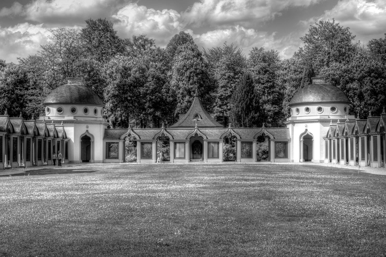 Im Schloßgarten...
