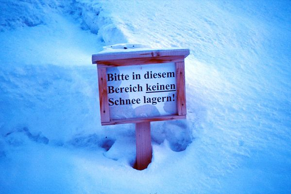 Im Schnee