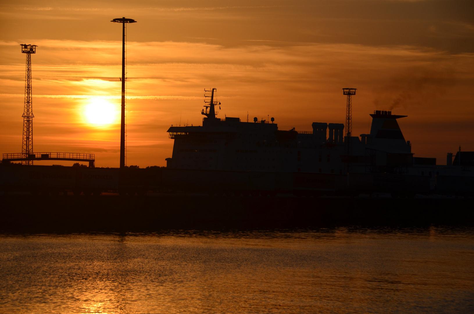 im Seehafen Rostock