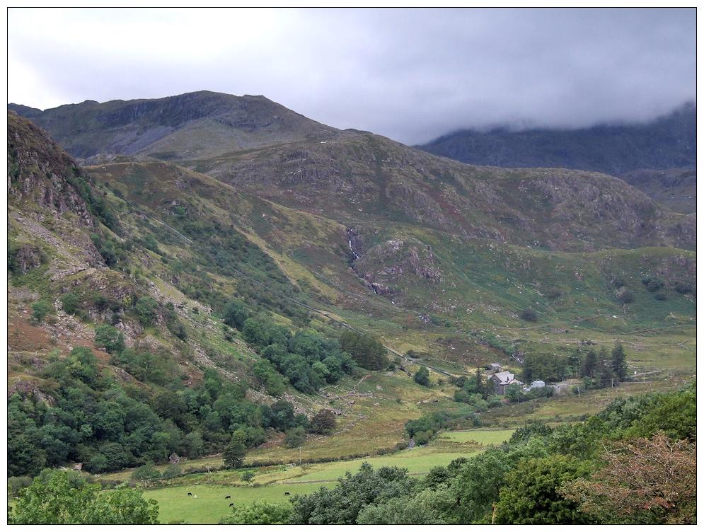 im Snowdonia Gebirge