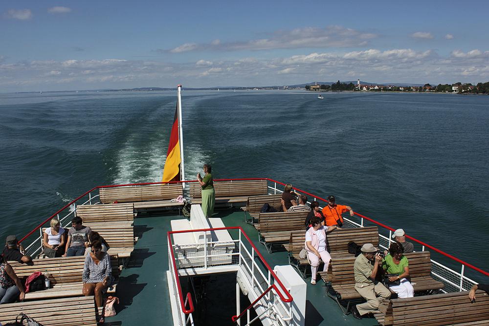 Im Sommer auf'm See