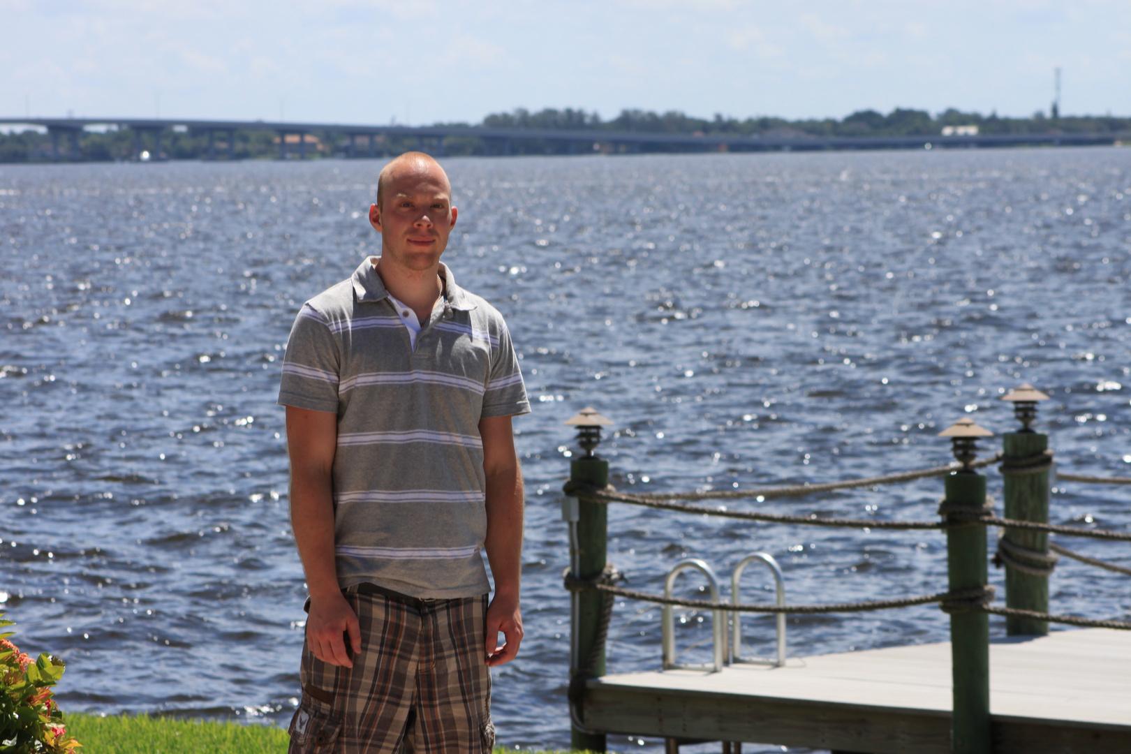 Im Sonnenschein in Florida