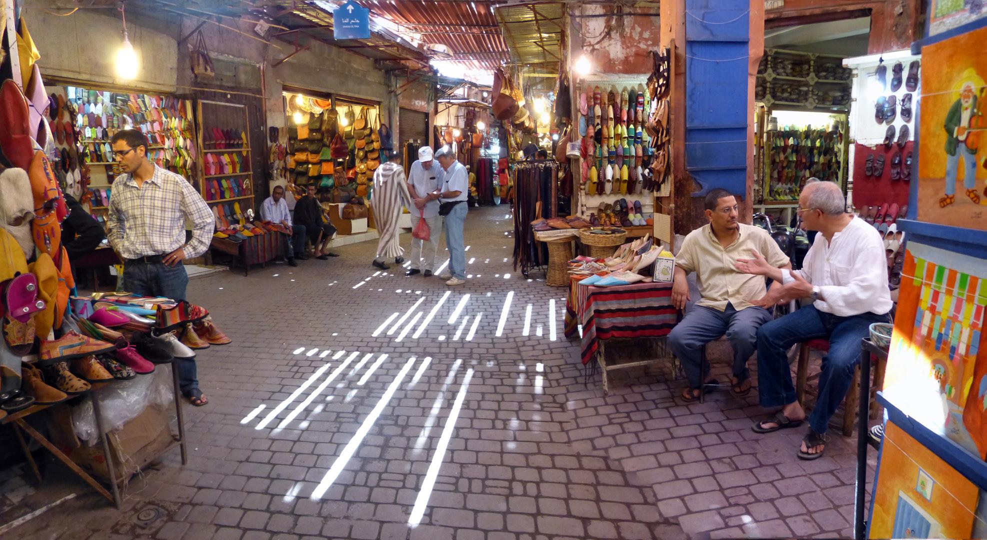 Im Souk La Lkchachbia in Marrakech