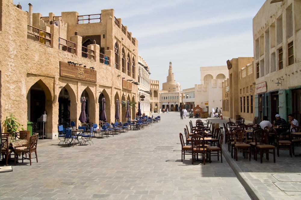 Im Souk Waqif von Doha