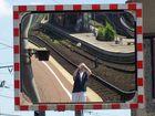 Im Spiegel der Bahn