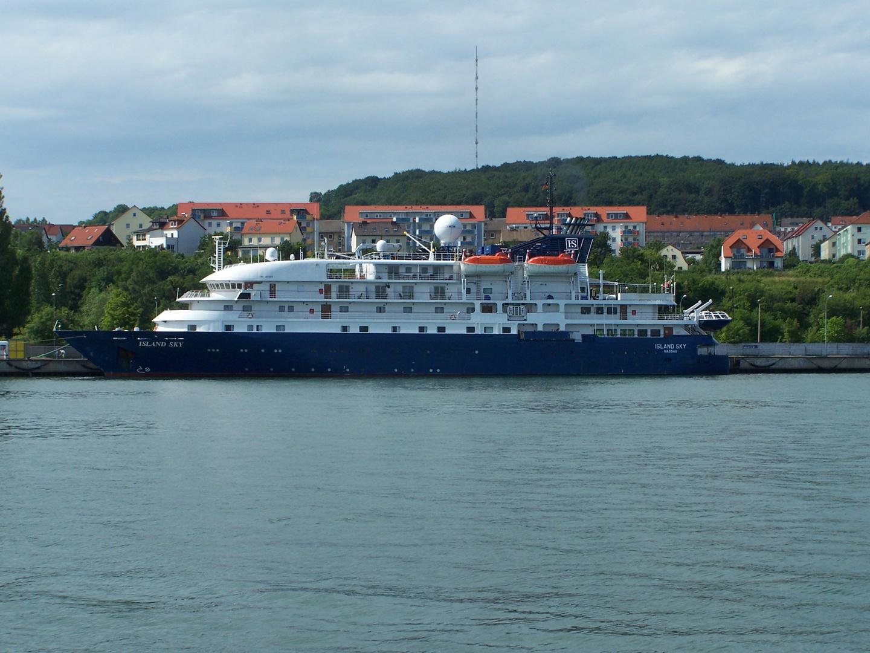 Im Stadthafen von Sassnitz