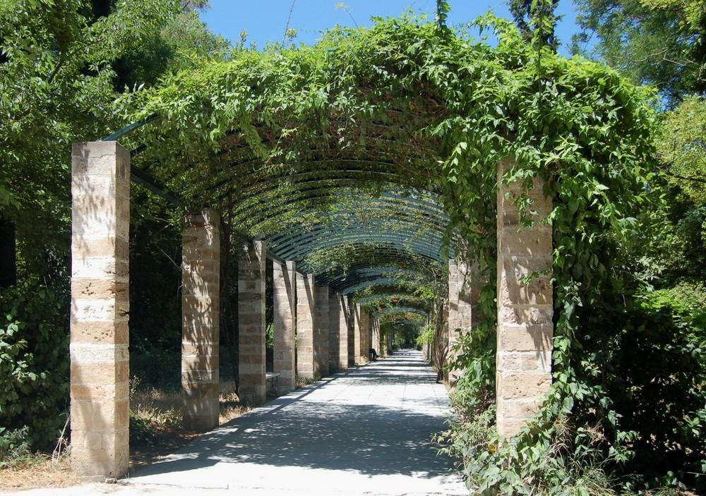 Im Stadtpark von Athen