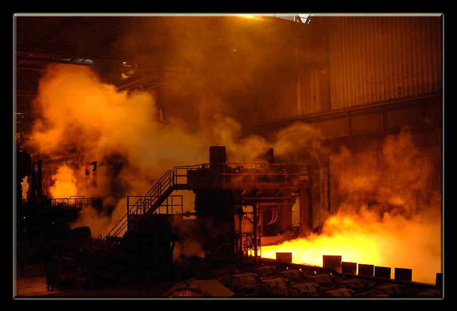 Im Stahlwerk # III