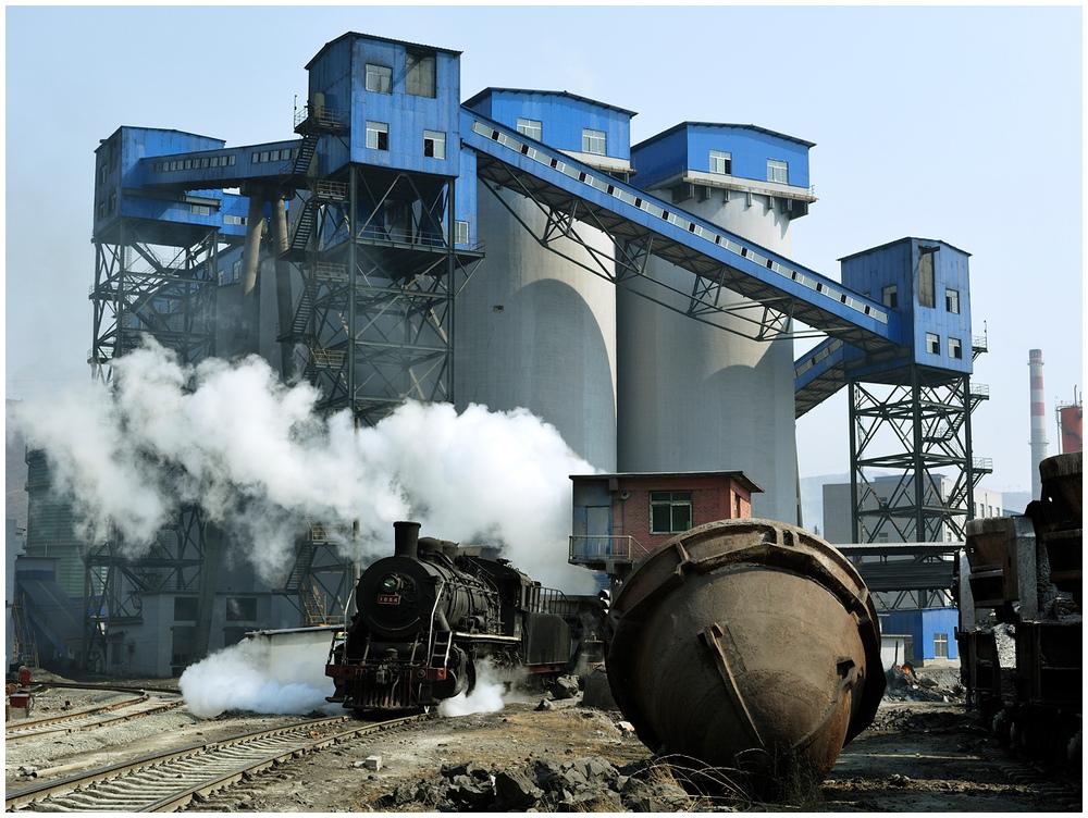 Im Stahlwerk XVIII - Rohstofflager