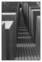 Im Stelenfeld_01 / Denkmal für die ermordeten Juden Europas