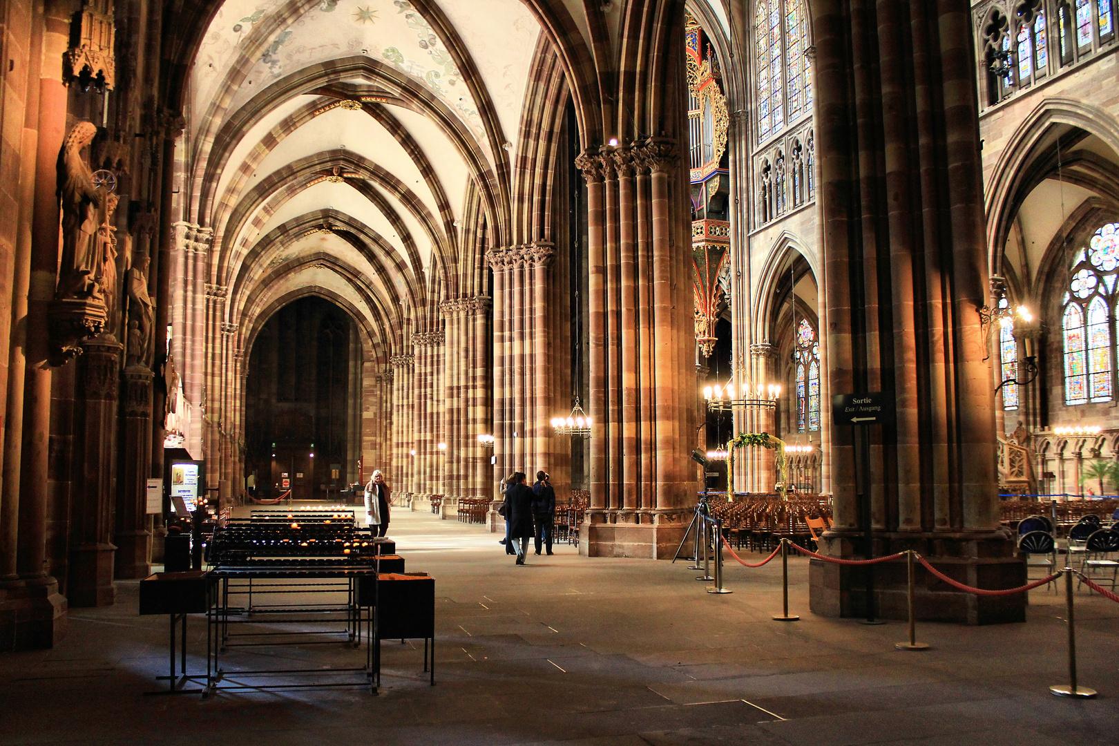 Im Straßburger Münster