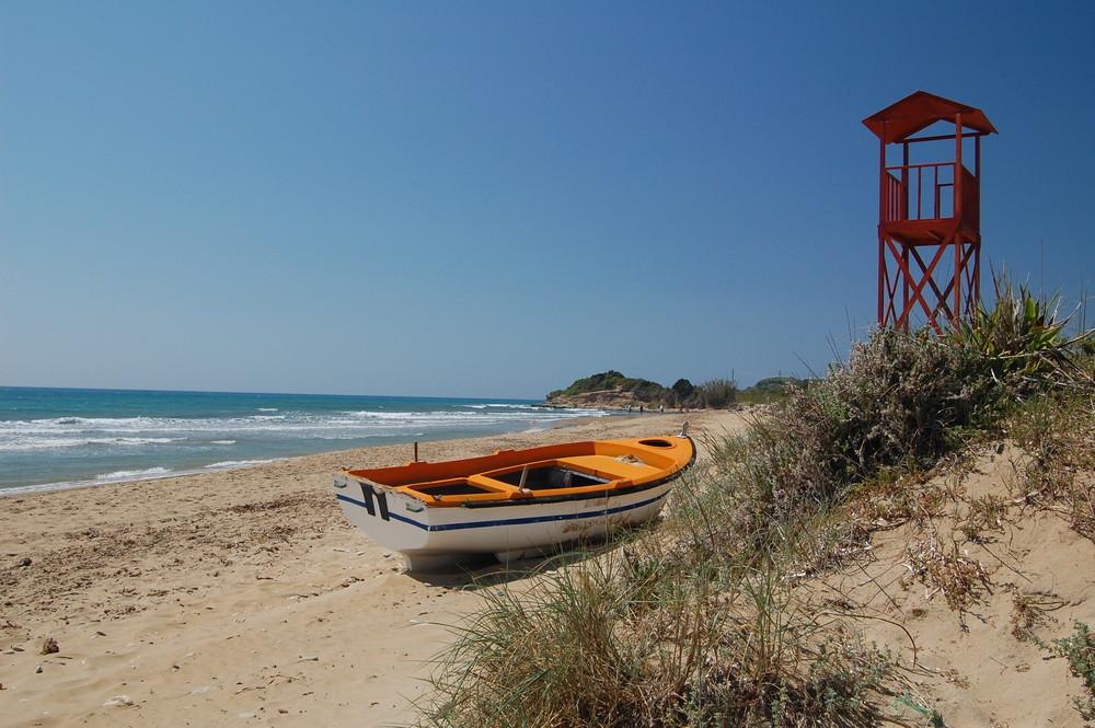 im Süden Korfus