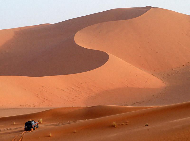 Im Süden Libyens...