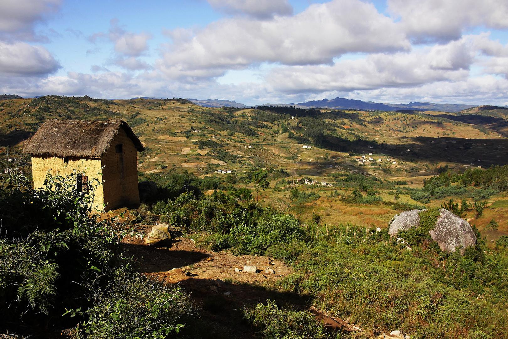 Im südlichen Hochland von Madagaskar