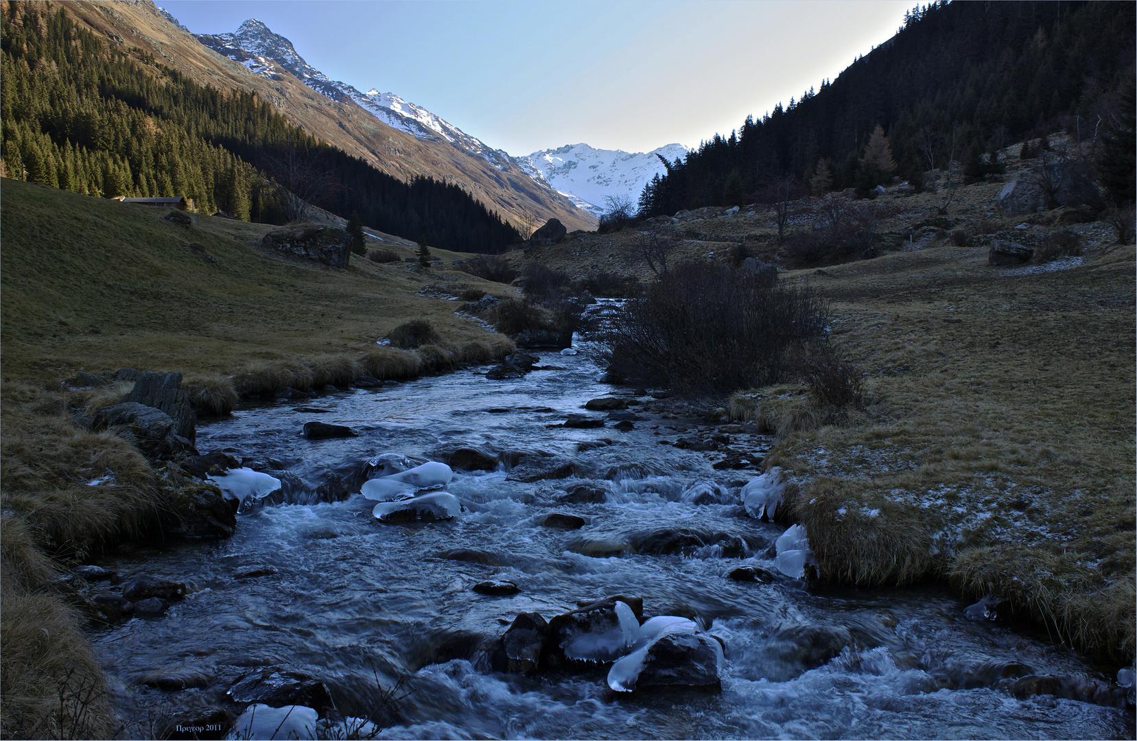 Im Tal der Dischma (Kanton Graubünden / Schweiz)