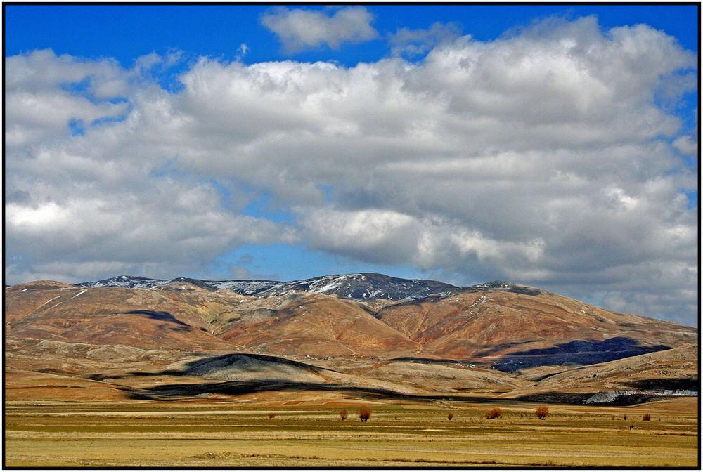 Im Taurus Gebirge - Maler Natur am Werk