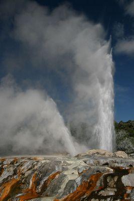 Im Te Puia bei Rotorua