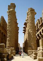 Im Tempel des Amun-Re