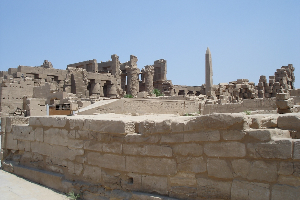Im Tempel von Karnak