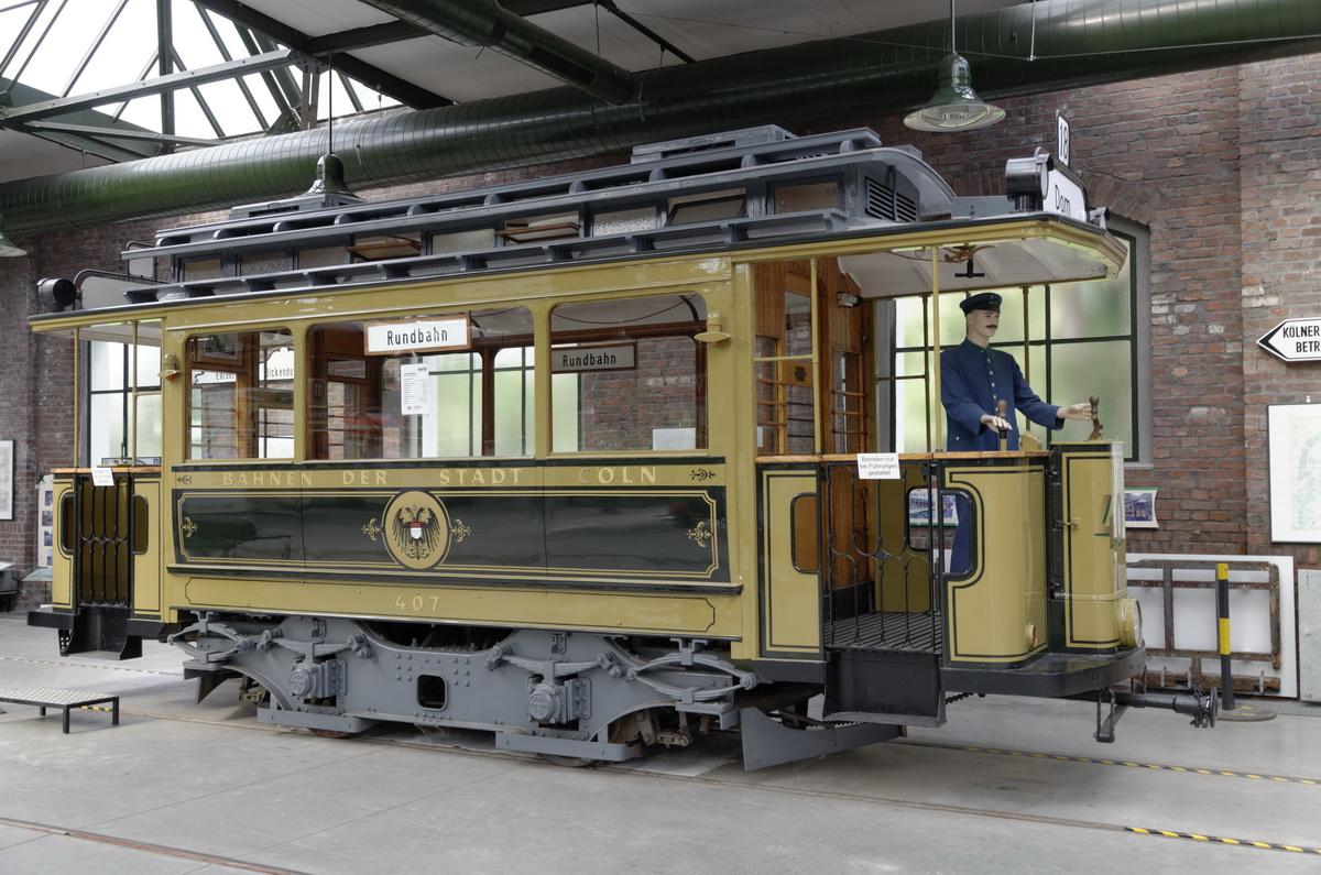 Im Thielenbrucher Strassenbahn Museum