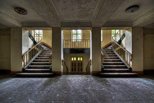 Im Treppenhaus #4