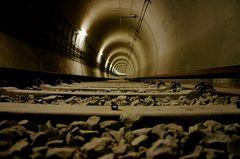 Im Tunnel...