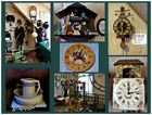 Im Uhrenmuseum in Bad Iburg . . . .