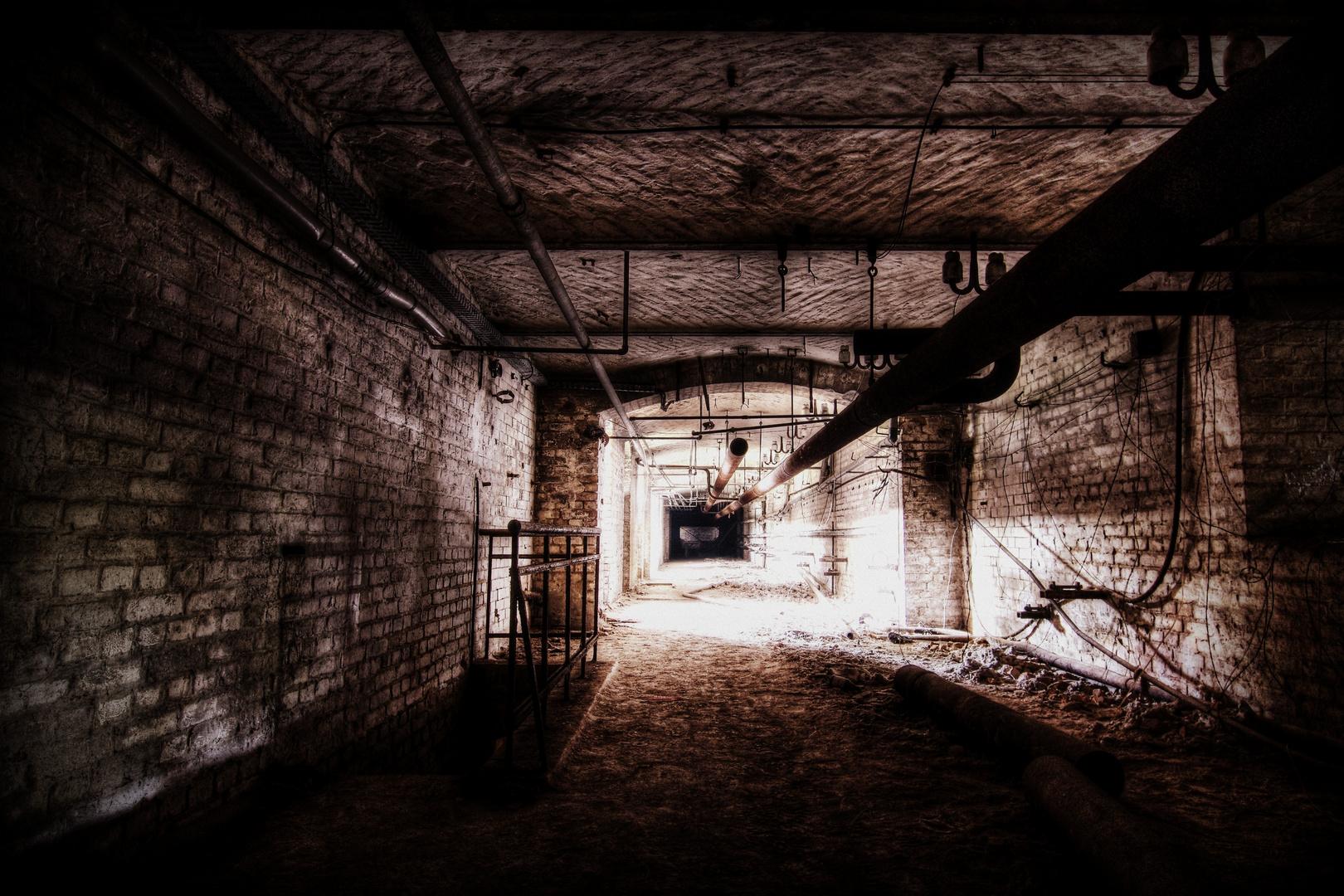 im Untergrund...