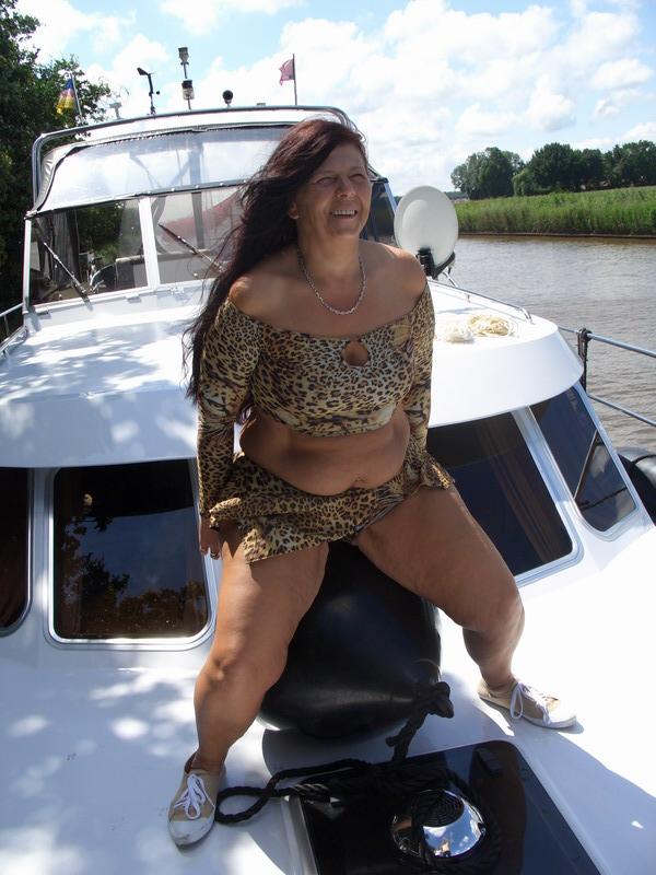im Urlaub auf der Yacht