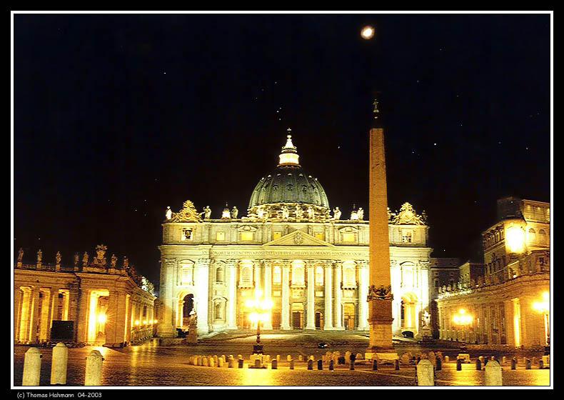 Im Vatikan - kurz vor Toresschluß ...