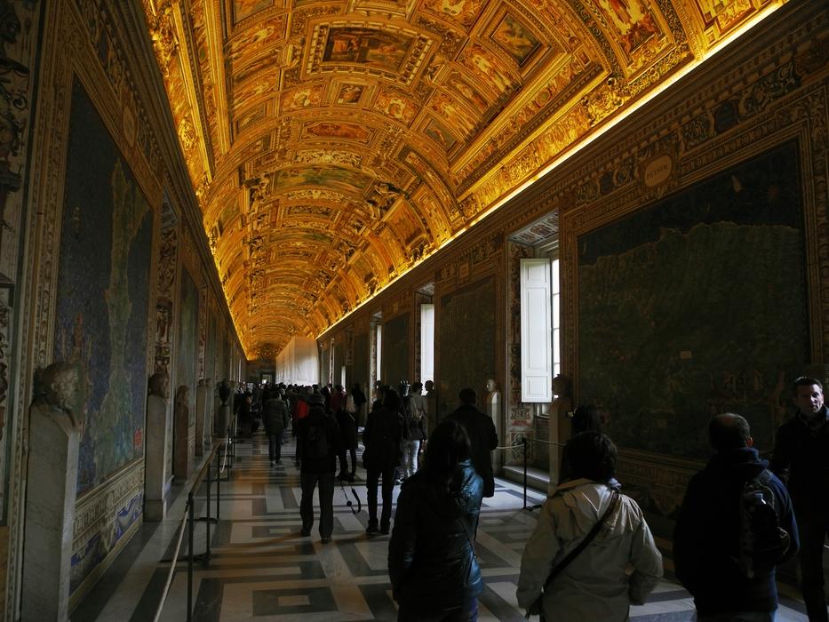 Im Vatikanischem Museum