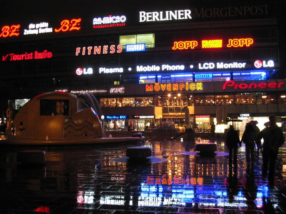...im verregneten Berlin..