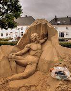 'Im Visier' - *Vergängliche Kunst*