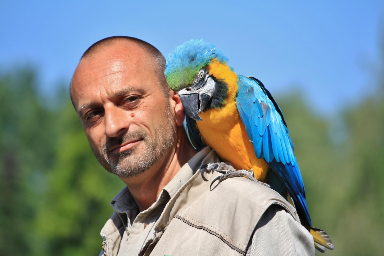 im Vogelpark Walsrode