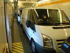 im Waggon Eurotunnel Shuttle