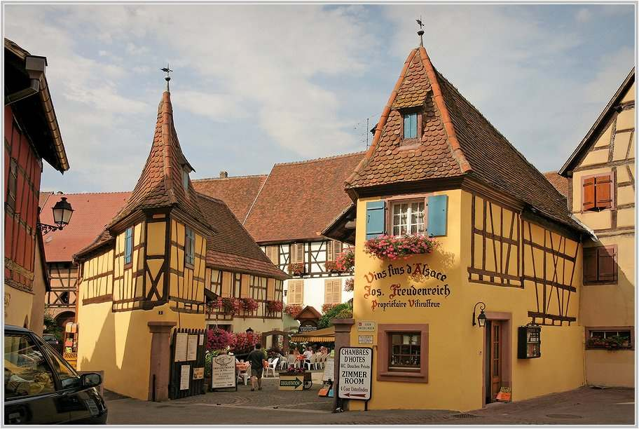 Im Weinort Eguisheim (1)
