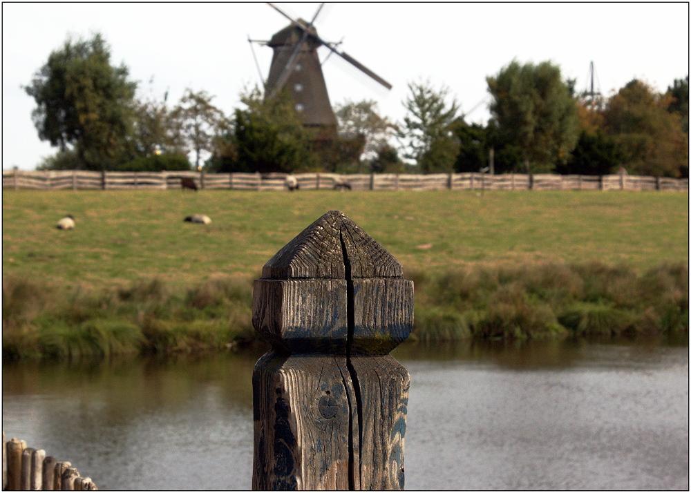 ... im Windmühlenmuseum ...