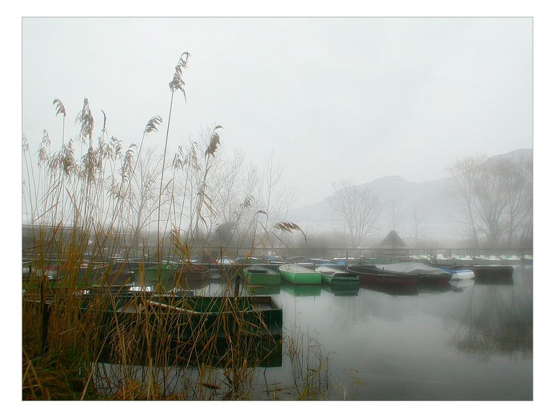 Im Winter am Kalterer See