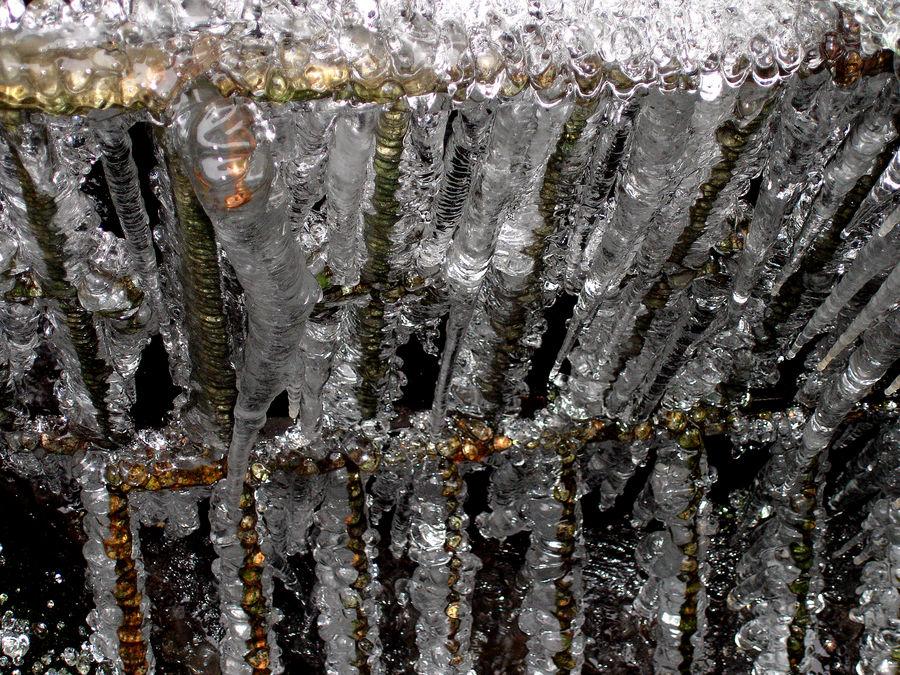 Im Winter mahlen die Mühlen langsamer.