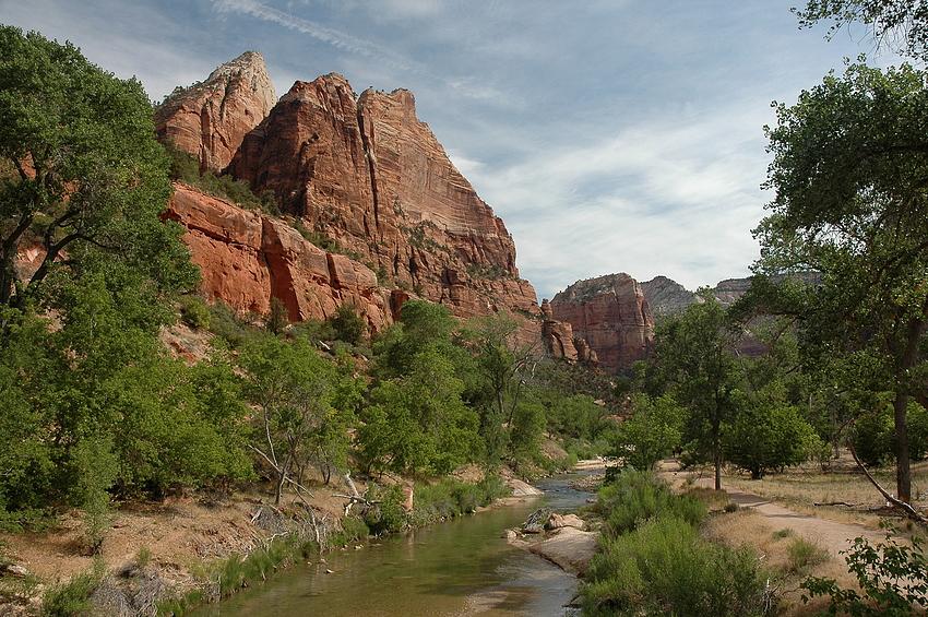 Im Zion Canyon 1