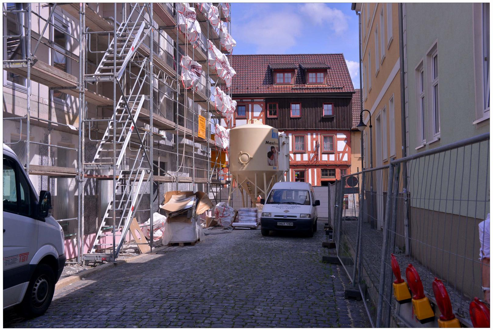 imagen de mi nueva cámara VIII - Meiningen, obras