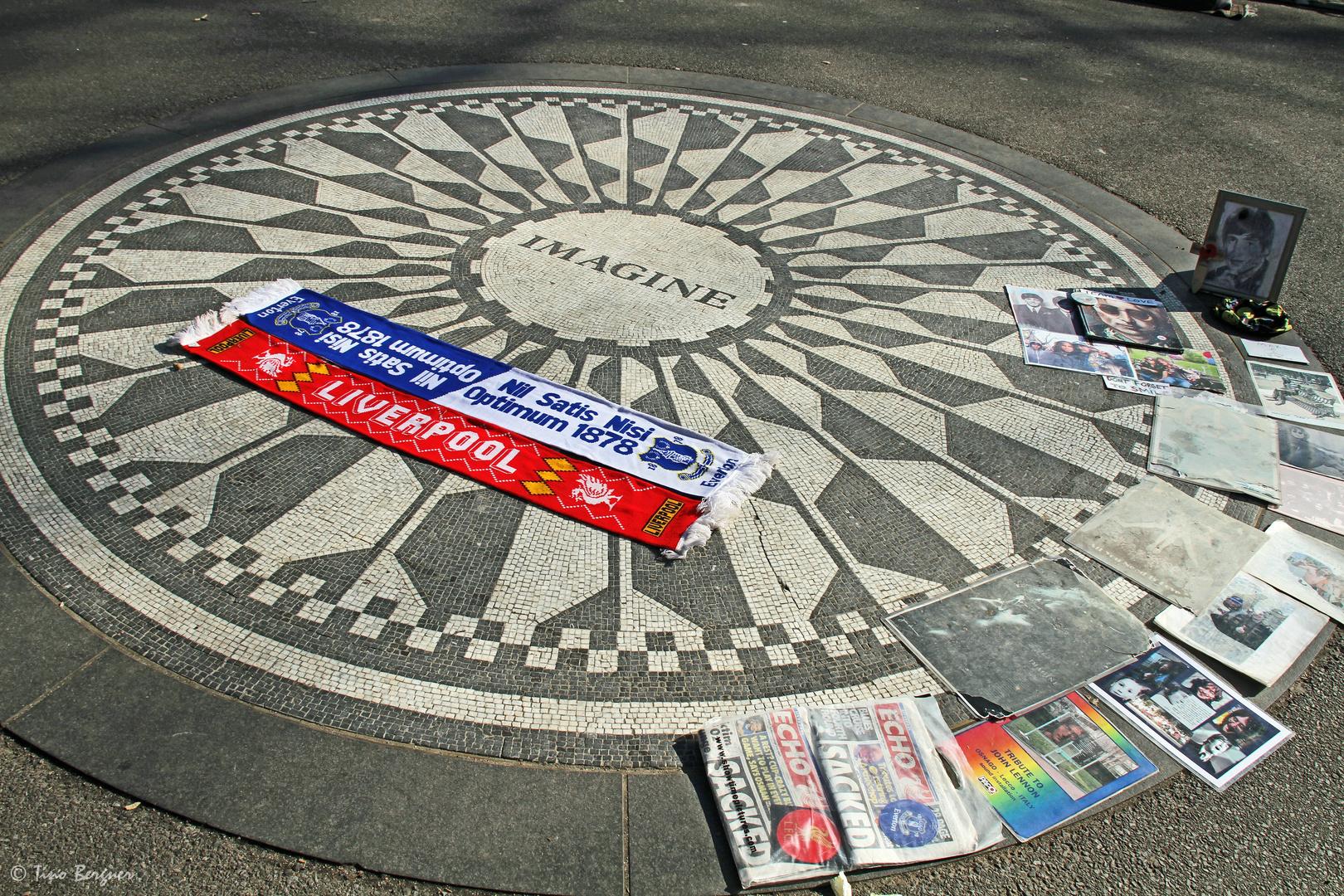 Imagine - Strawberry Fields NYC