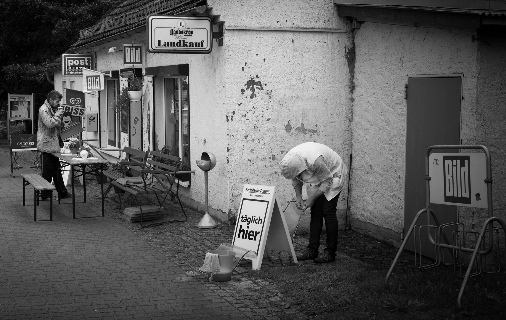 Imbiß Friedersdorf O.L., Sachsen