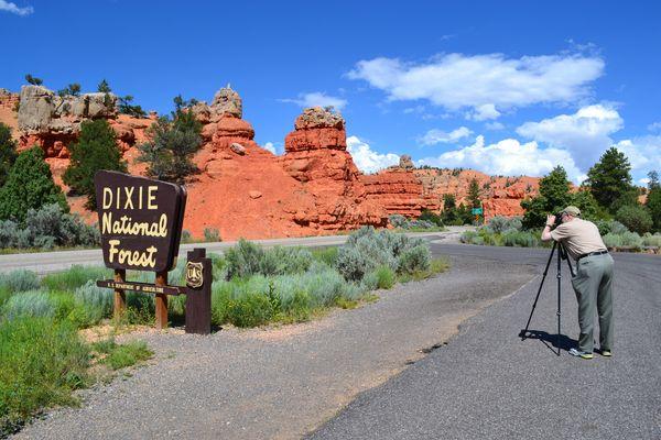 Imitando Ansel Adams - Utah 2011