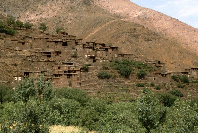 Imlil-Ein Dorf im Hohen Atlas