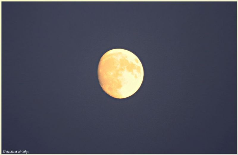 Immer das dumme Geschwätz wegen dem Mond