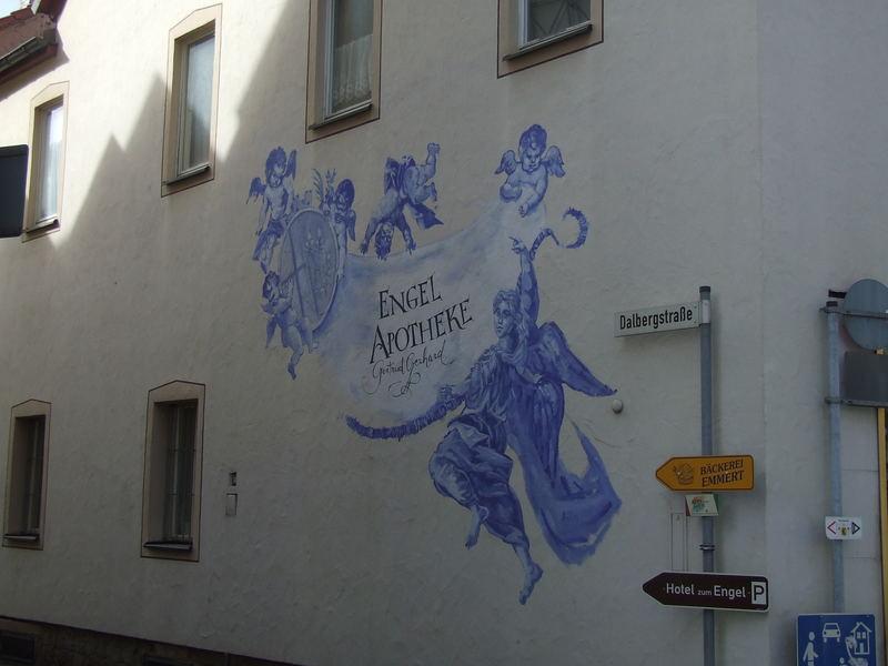 Immer diese Graffitti-Schmierer.....