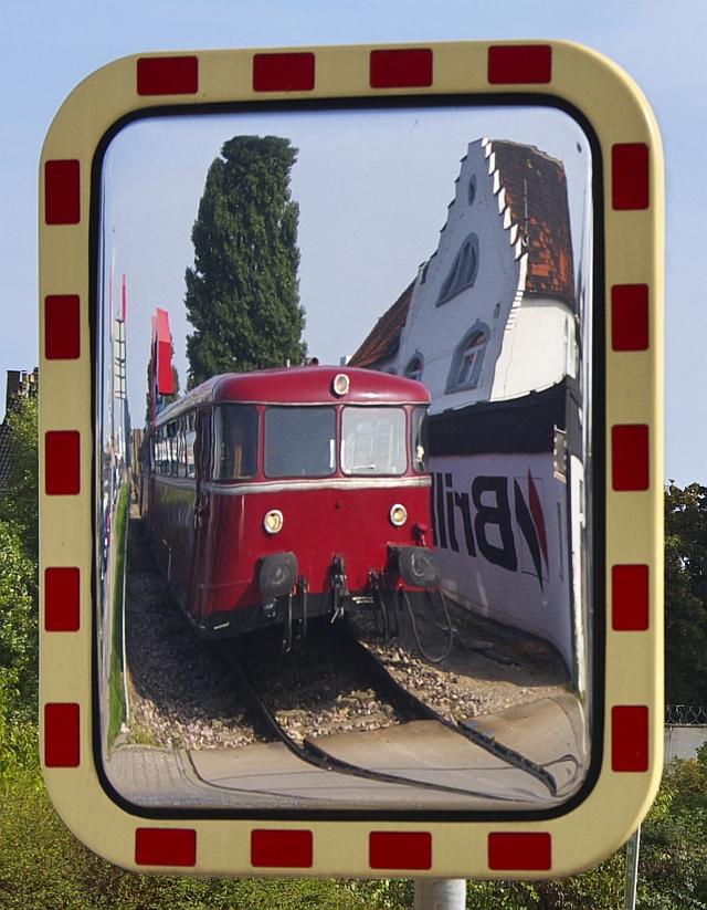 Immer schön in den Spiegel schauen!
